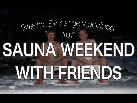 WINTER WEEKEND | Sweden Exchange Videoblog #07
