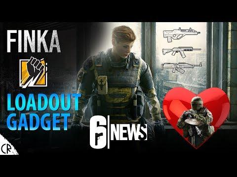 Finka Gadget & Loadout & Backstory - 6News - Tom Clancy's Rainbow Six