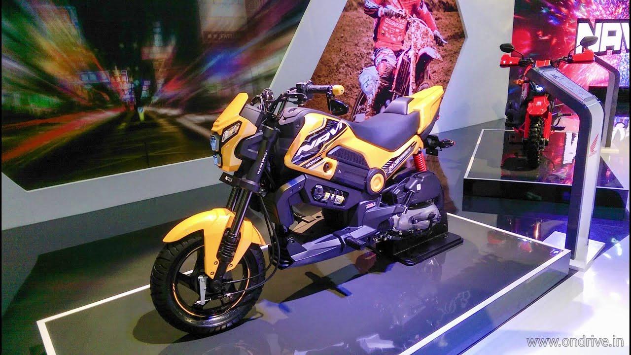 Honda NAVI – 100cc Bike-Scooter Hybrid First Look