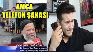 LAİKLİK ELDEN GİDİYEAH  TELEFON ŞAKASI !