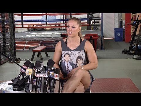 Ronda Rousey On Holly Holm, her Mother, Road House, Vin Diesel, Being Latina, Superheroes