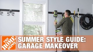 The Home Depot- Summer Style Guide-garage Makeover