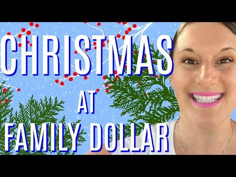 *LIVE* CHRISTMAS AT FAMILY DOLLAR | CHRISTMAS DECOR, $5 GIFT SETS & MORE!!