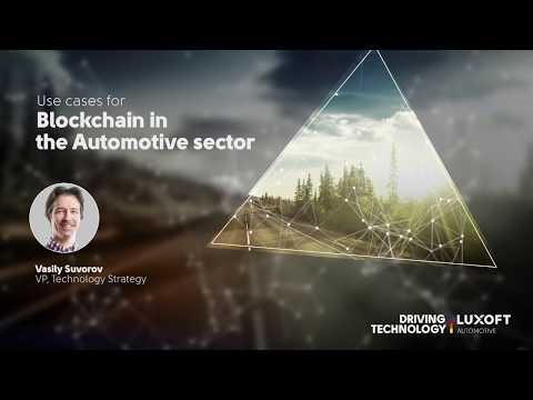 Use cases for Blockchain in the Automotive Sector