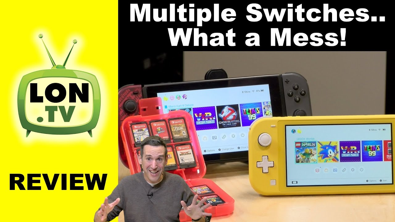 How To Manage Multiple Nintendo Switch Consoles It S A Mess Youtube