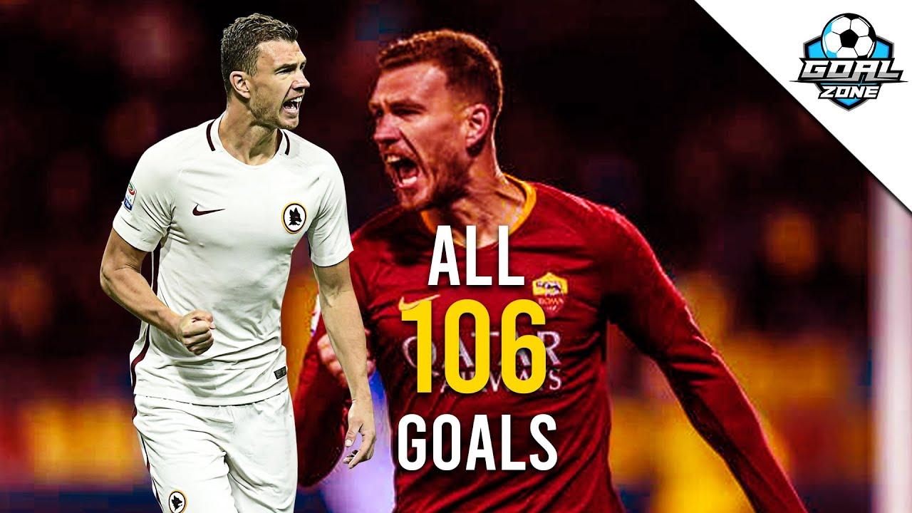 Download Edin Dzeko - All 106 Goals for Roma So Far