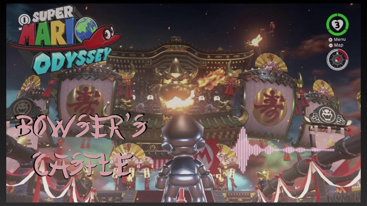 Super Mario Odyssey Bowser S Castle 2 Bowsette S Castle Kairi