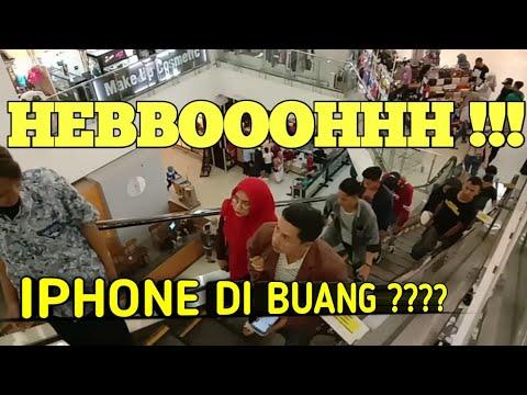 BANTING I-PHONE DI DEPAN UMUM 😱 INI BARU SULTAN