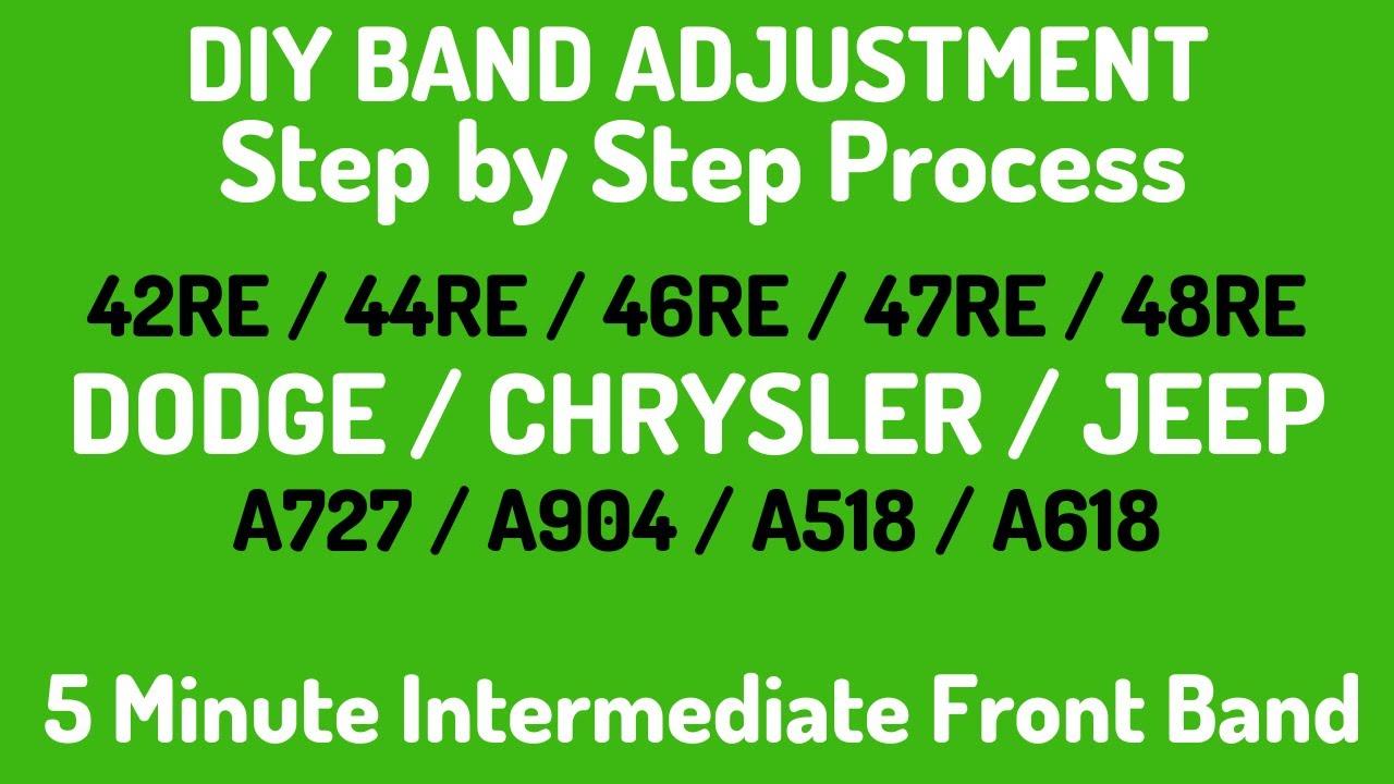 Fl70 Freightliner Engine Diagram Dodge Jeep Truck Transmission Band Adjustment Procedure