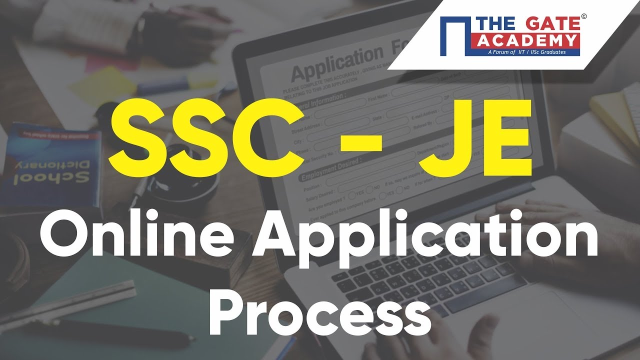 Tutorial: How to fill SSC JE Online Application Form