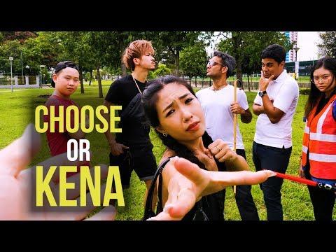 A Singaporean Interactive Adventure - CHOOSE OR KENA
