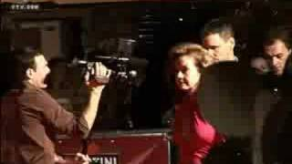 Ocean's 13 launch -Brad Pitt, George Cloony, Petra Nemcova, Hofit Golan Thumbnail
