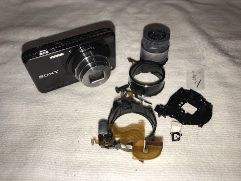 Sony DSC-WX220 Lens Assembly Replacement