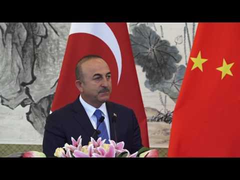 Dışişleri Bakanı Sayın Mevlüt Çavuşoğlu'nun ÇHC Dışişleri Bakanı ile Ortak Basın Toplantısı