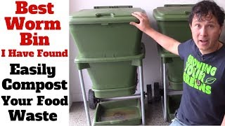 Best Worm Bin I Have Ever Found - Easily Compost Your Food Waste