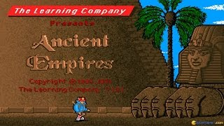 Super Solvers: Ancient Empires gameplay (PC Game, 1990)