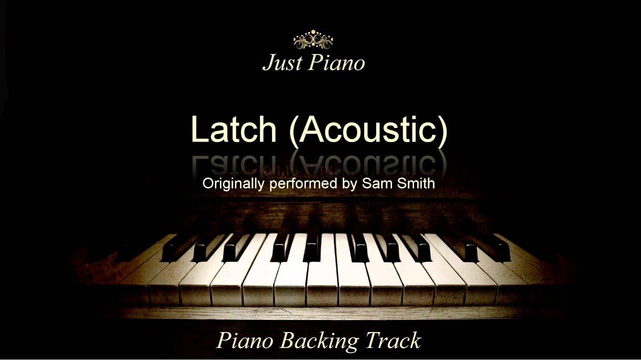 latch acoustic piano sheet music pdf