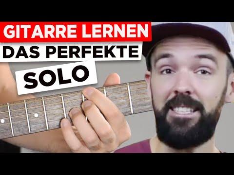 Gitarre Lernen - Der Schlüssel Für Jedes Gitarrensolo