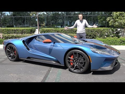 The 2019 Ford GT Is America's Insane $1 Million Supercar