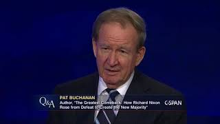 Pat Buchanan Reacts to Michael Wolff's Explosive Book