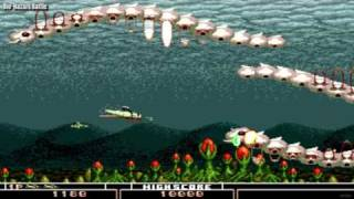 Bio Hazard Battle / auto demo / Sega Megadrive Genesis / 1992