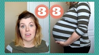 IVF PREGNANCY #2: WEEK 33 + L&D + SNORING!!!