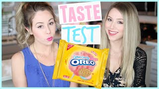 TASTE TEST | Cotton Candy OREOS