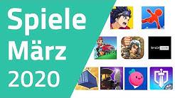 Top Spiele für Android & iOS - März 2020