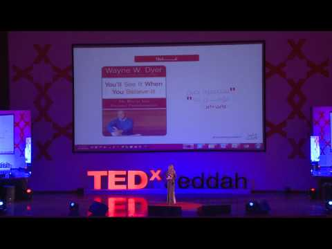 I need you all to imagine with me | Shaymaa Al Shareef | TEDxJeddah