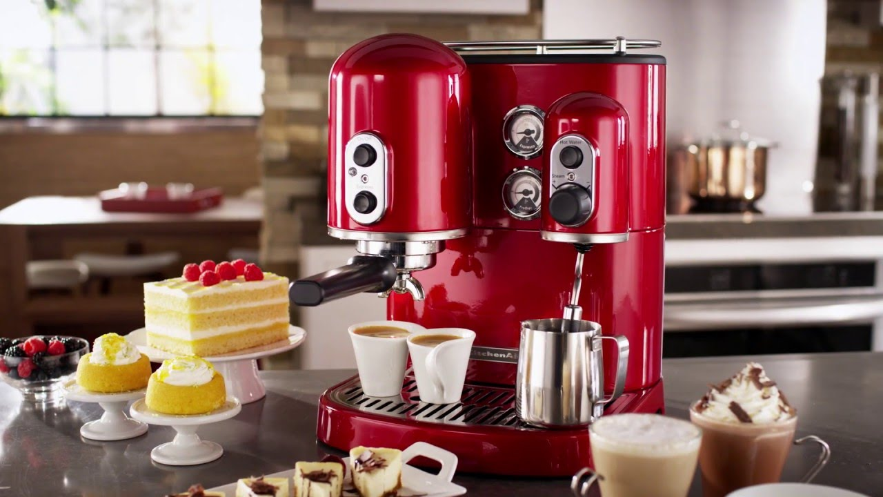 KitchenAid Pro Line Espresso Maker With Dual Independent Boilers