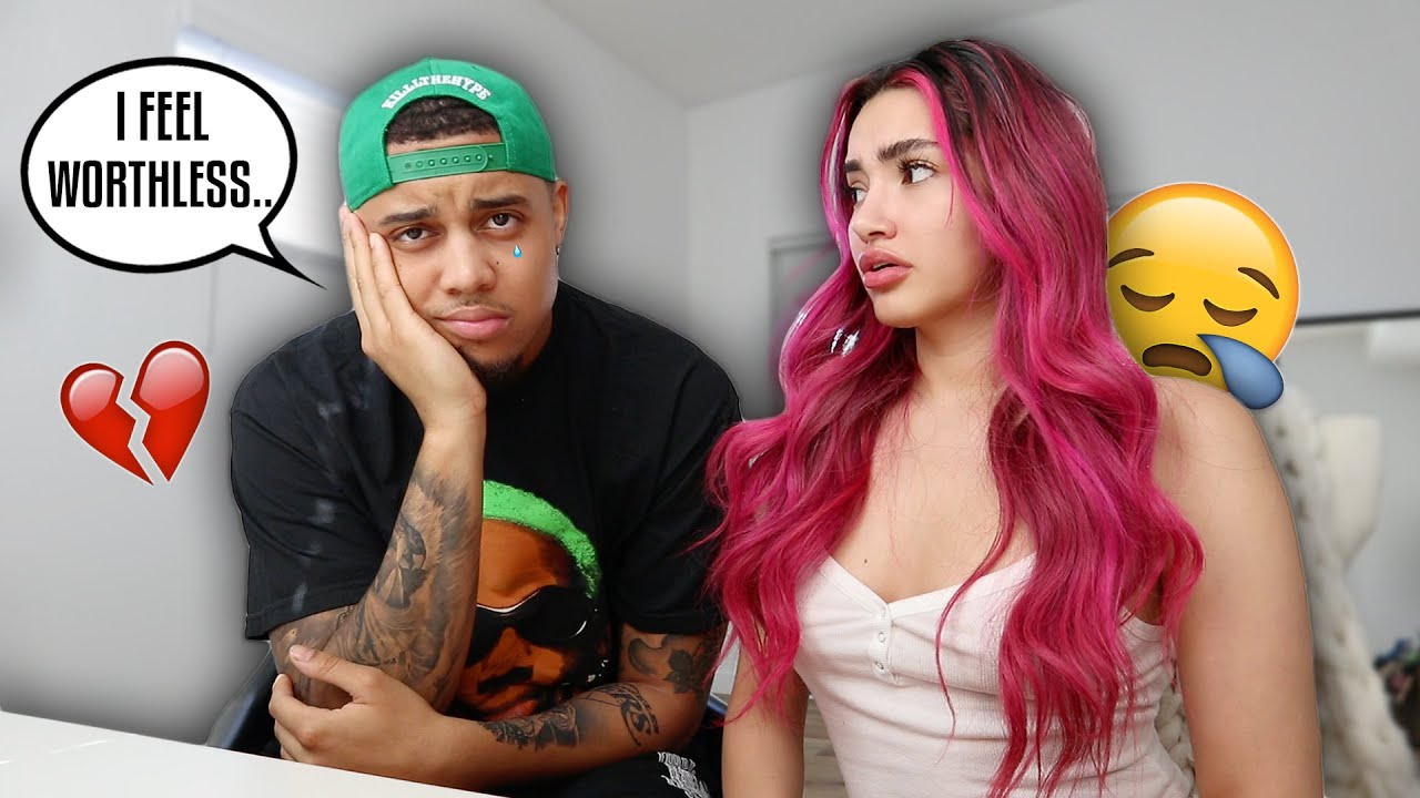 BEING EXTREMELY INSECURE TO SEE HOW MY GF REACTS!! **I CRIED..**