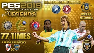 [PS4]PES2019 - FULL LEGENDS by EQ. EMERSON PEREIRA (77 Equipes)