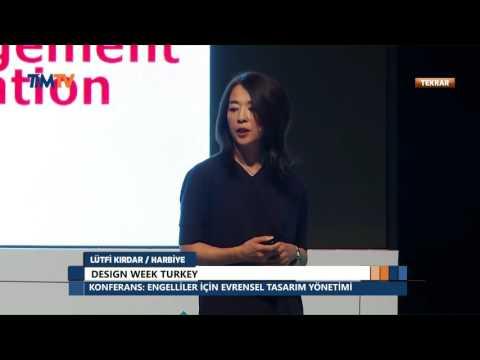 Design Week Turkey - Dr. Yasuko Takayama - Engelliler İçin Evrensel Tasarım Yönetimi Konferansı
