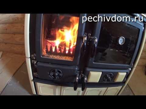 Печь La Nordica Rosa, Rosa Maiolica, wood cook stove, полный обзор с характеристиками