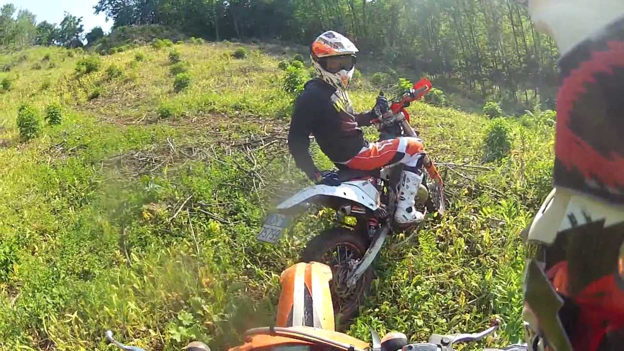 hill climb ktm exc 125 - gopro hd - youtube