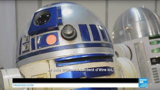 FRANCE 24 au Paris Manga & Sci-Fi Show : avec en interview exclusive R2D2 !