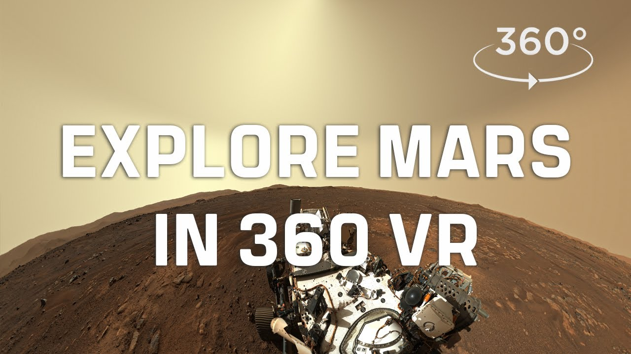 A tour of Mars in 360 VR