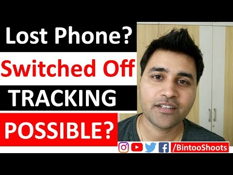 Tracking A Switched Off Mobile Phone, Possible? | Hindi | BintooShoots