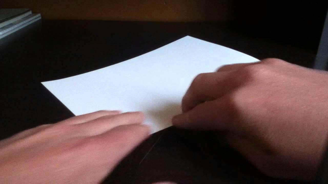 Comment couper du papier sans aucun outil astuce - Comment couper du verre sans coupe verre ...