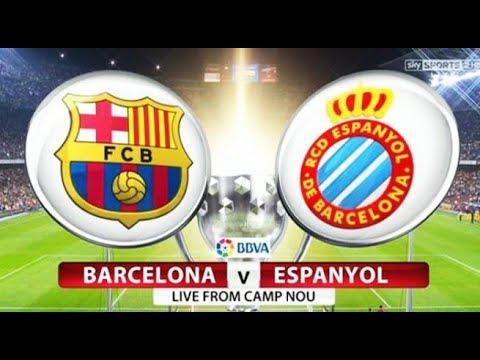Hasil  Bola Tadi Malam Barcelona Vs Espanyol 2-0 All Goals Highlight[HD]