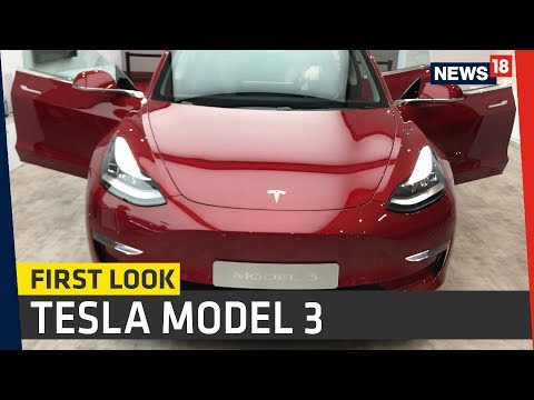 exclusive-tesla-model-3-first-look-review-india,-paris-motor-show-2018