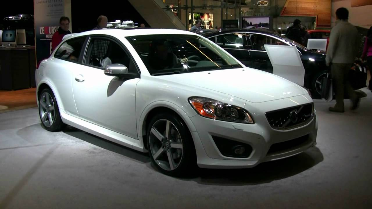 2012 Volvo C30 T5 R-Design - Exterior and Interior at 2012 Montreal Auto Show - YouTube