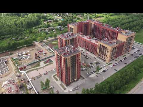 """ЖК """"Северная корона"""", третья очередь строительства. Облётка июнь 2019 год."""
