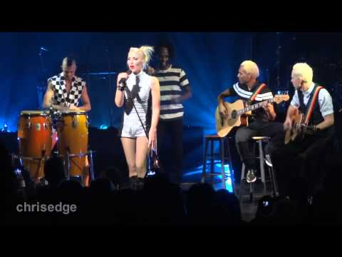 HD  No Doubt ! Simple Kind Of Life Acoustic 20121124 Gibson Amphitheatre Universal City, CA
