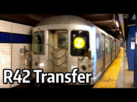 ⁴ᴷ R42 Transfers on the M Line