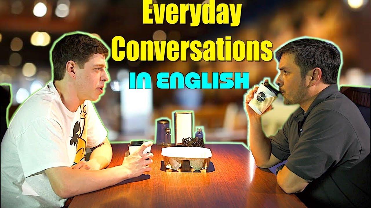 Conversación en Inglés del uso diario | English listening class!