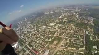 Десантники опубликовали видео прыжка над Красной площадью