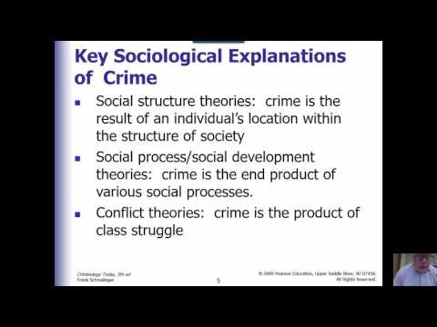 Criminology Week 6 Lecture