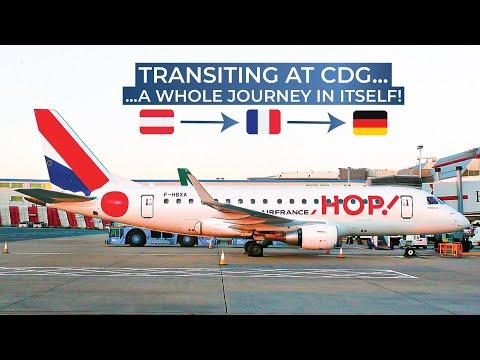TRIPREPORT | Air France (ECONOMY) | Vienna - Paris CDG - Bremen | Airbus A321 / Embraer 170