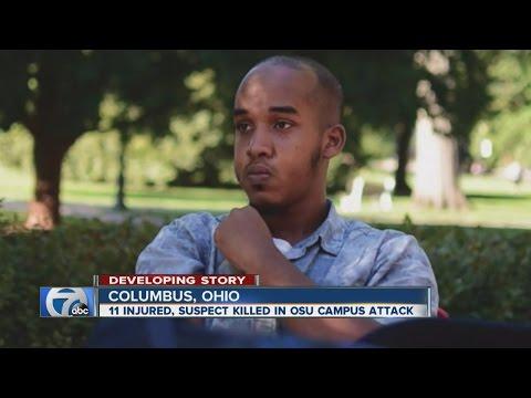 Terror attack at Ohio State University